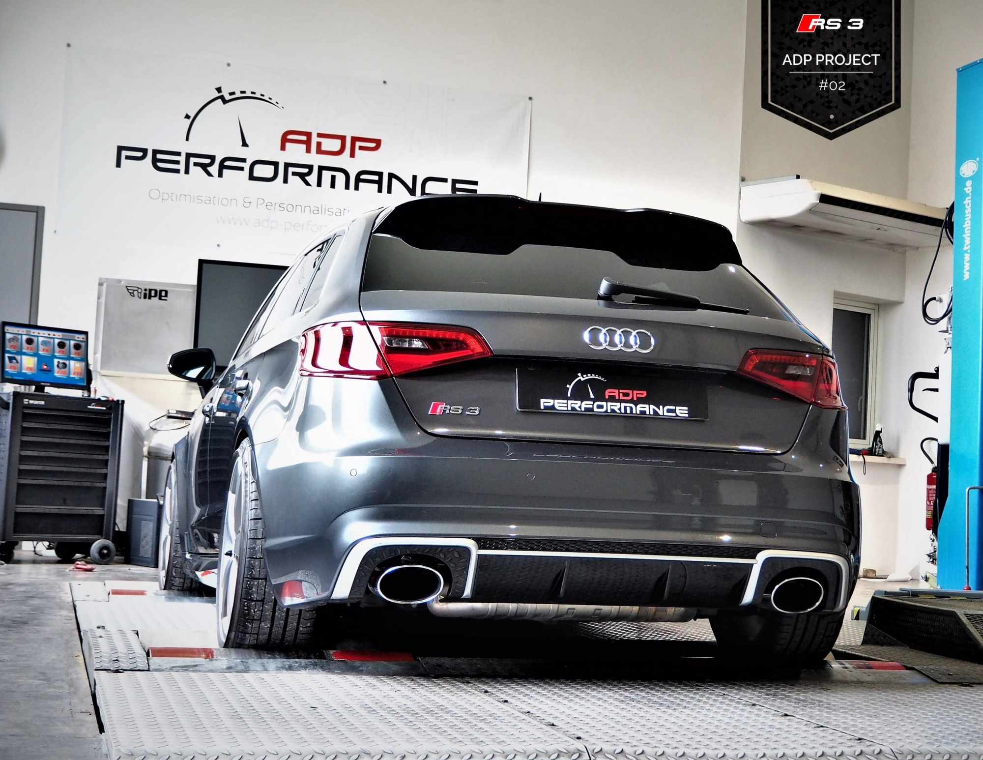 audi rs3 adp project 02 le stage 1 actualites. Black Bedroom Furniture Sets. Home Design Ideas