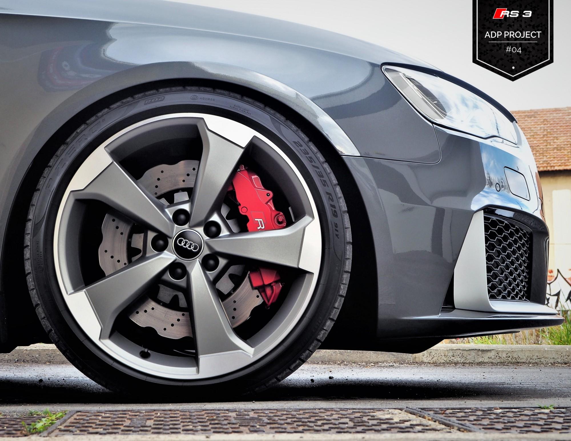 Ressorts courts Eibach Nimes - Audi RS3 8V ADP Performance