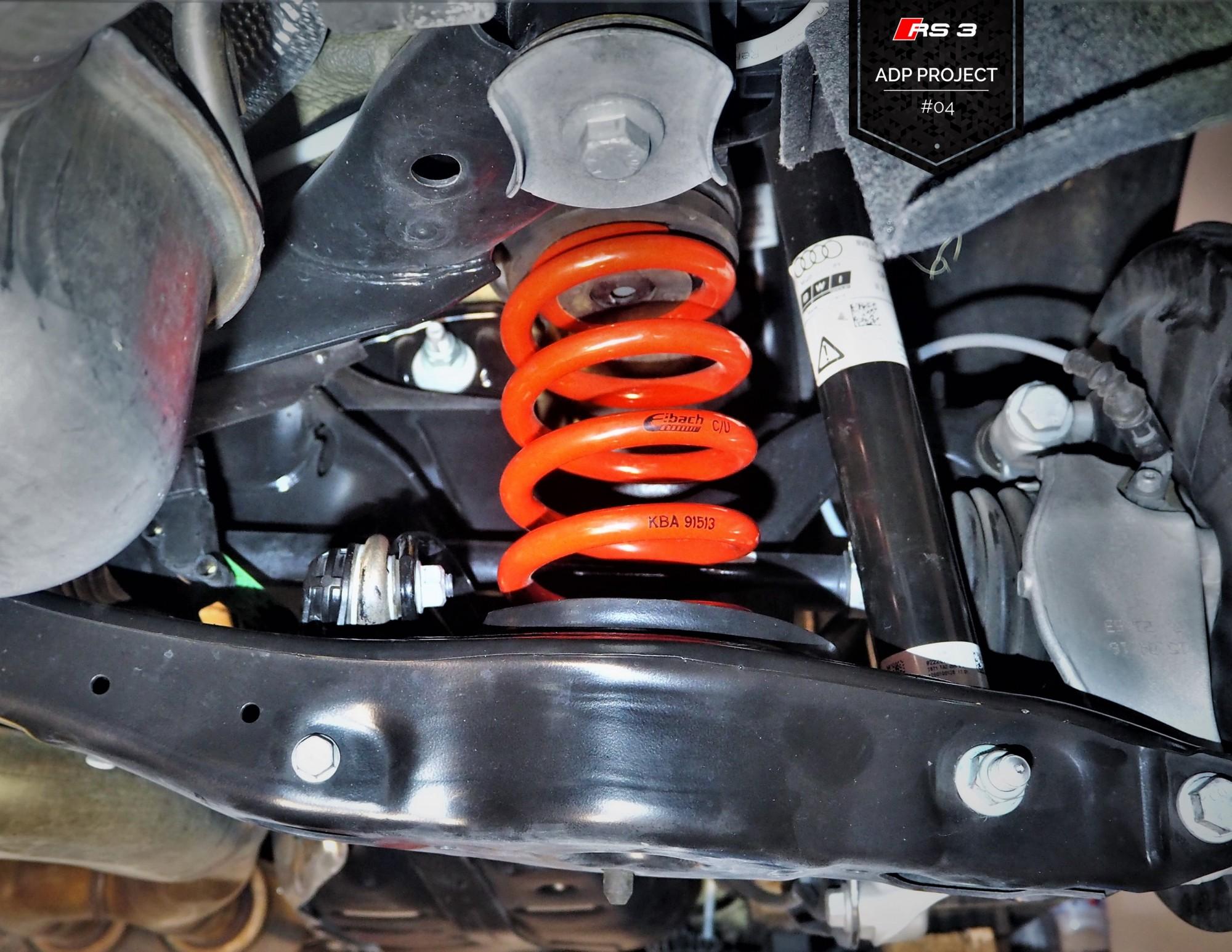Ressorts courts Eibach Aix en Provence - Audi RS3 8V ADP Performance