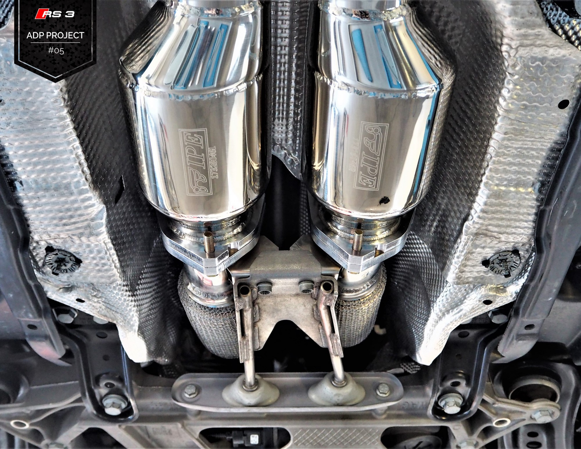 Echappement iPE Innotech Titane Monaco - Audi RS3 8V ADP Performance