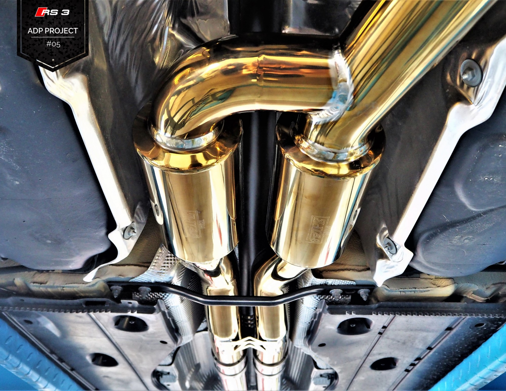 Echappement iPE Innotech Titane Nice - Audi RS3 8V ADP Performance