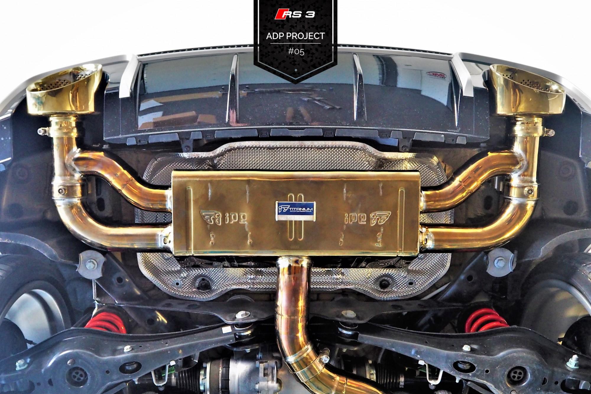 Echappement iPE Innotech Titane Cannes - Audi RS3 8V ADP Performance