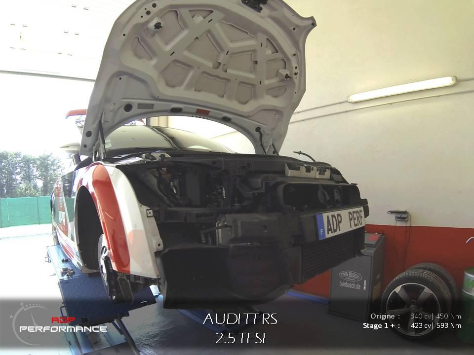 Reprogrammation moteur Audi TT Rs