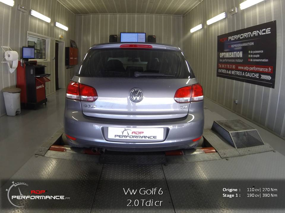 reprogrammation moteur golf 6 2 0 tdi 110 cv realisations reprogrammation auto sur marseille. Black Bedroom Furniture Sets. Home Design Ideas