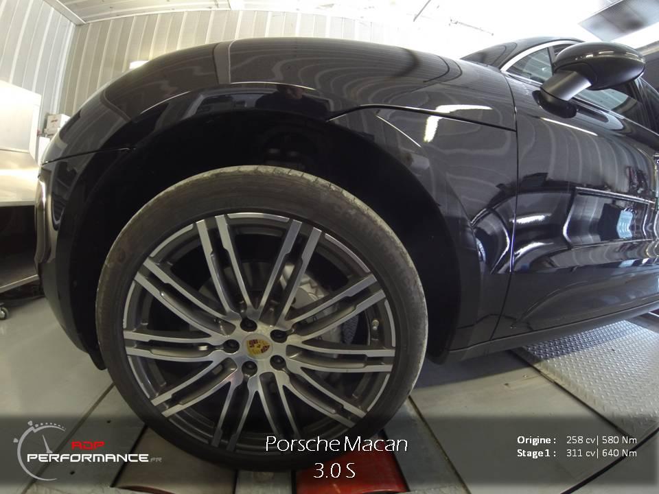 Reprogrammation moteur Porsche Macan