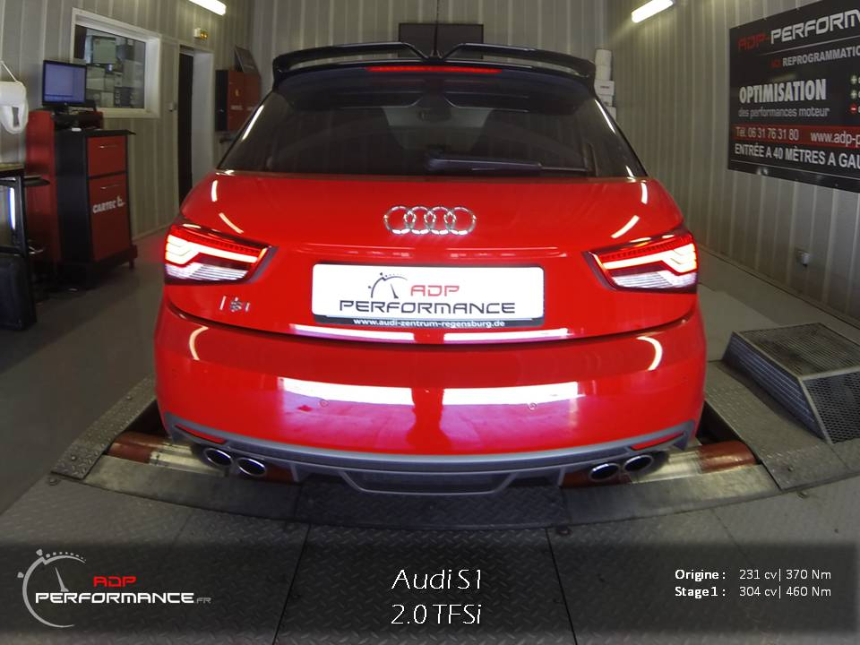 Reprogrammation moteur Audi S1
