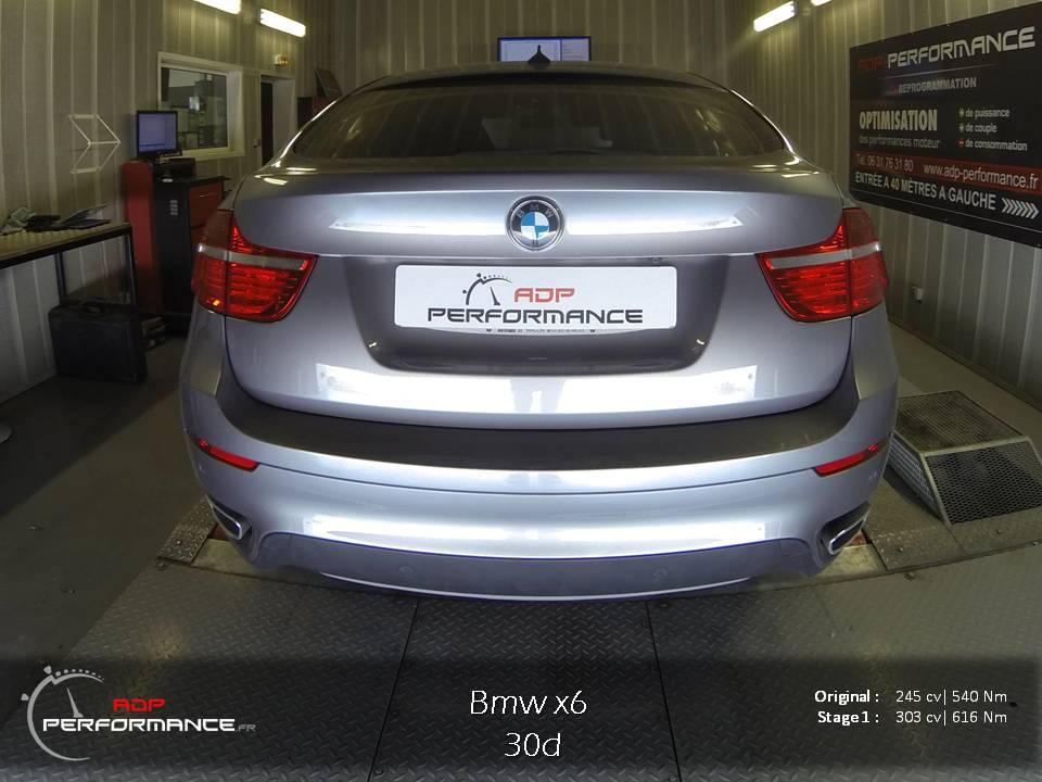 Reprogrammtion moteur bmw x6 30d