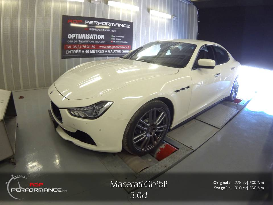 reprogrammation moteur maserati ghibli realisations reprogrammation auto sur marseille et. Black Bedroom Furniture Sets. Home Design Ideas