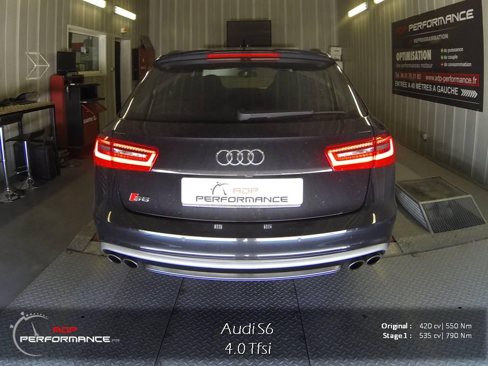 Reprogrammation moteur Audi S6 4.0 Tfsi 420