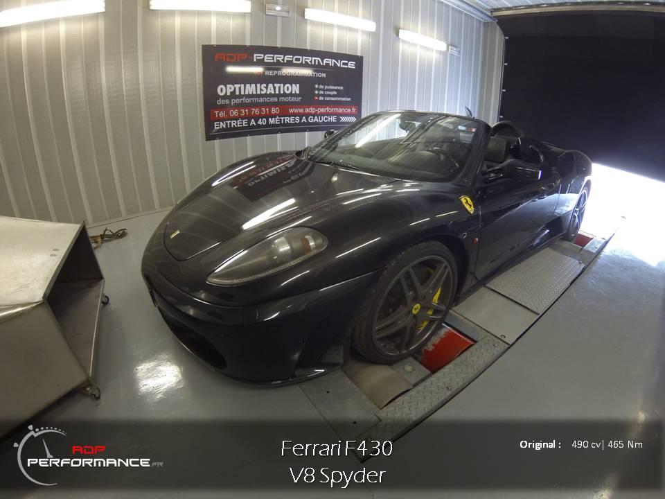Ligne d'échappement haut de gamme Ferrari