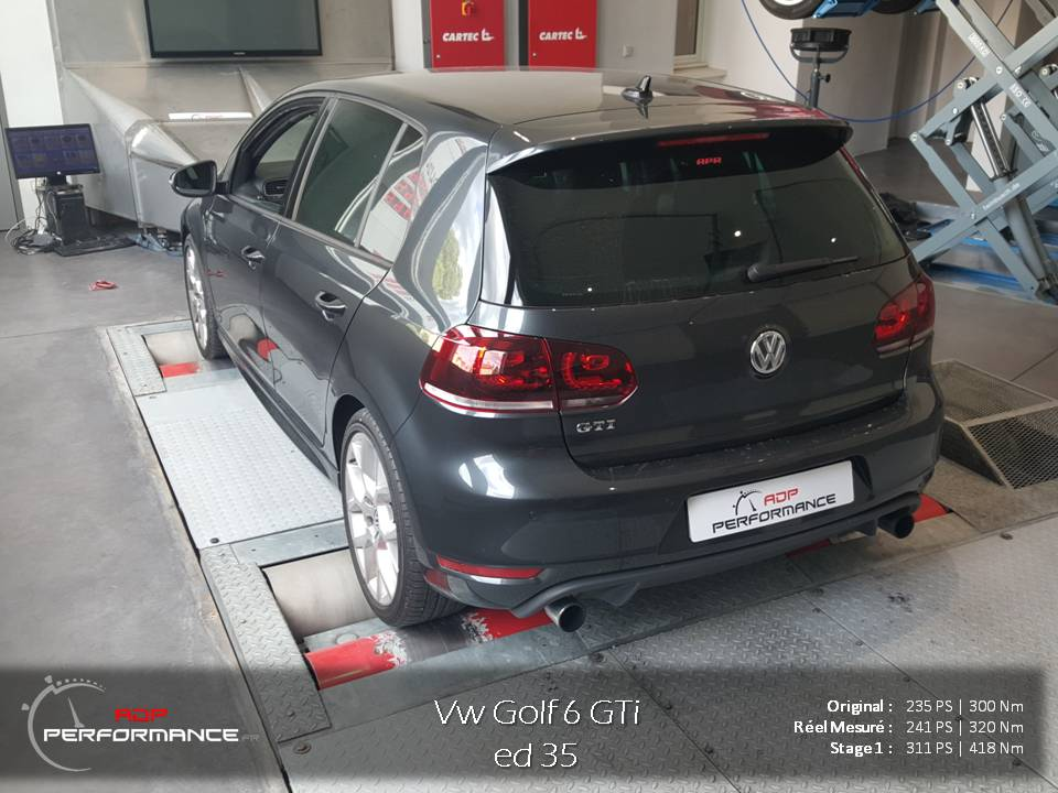 reprogrammation moteur golf 6 gti edition 35 2 0 tsi 235. Black Bedroom Furniture Sets. Home Design Ideas