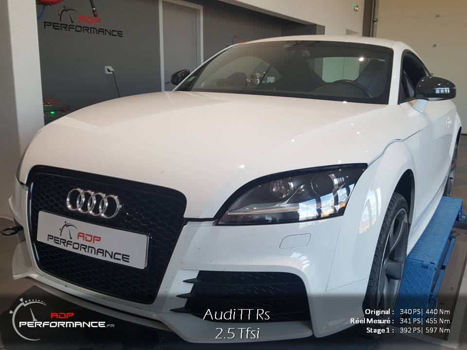 Echangeur d'air gros volume forge audi tt rs