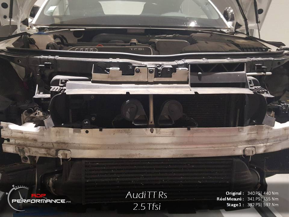 intercooler forge audi tt rs stage 2