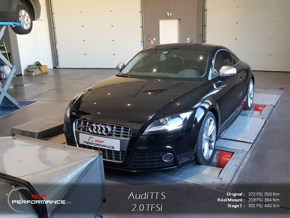 Reprogrammation moteur Audi TT S