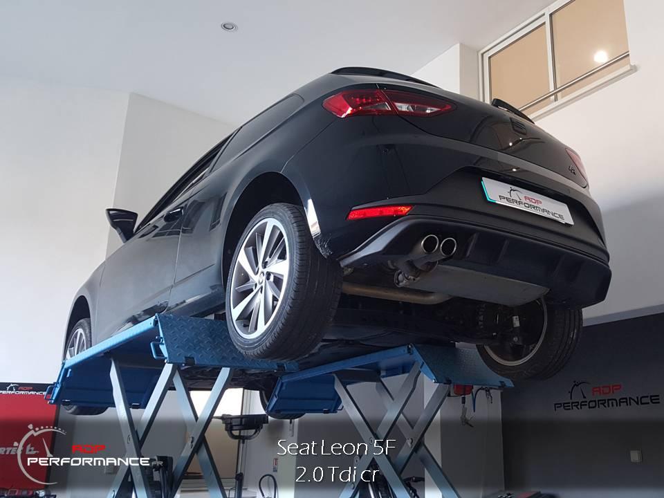 Personnalisation Seat Leon FR à Salon de provence