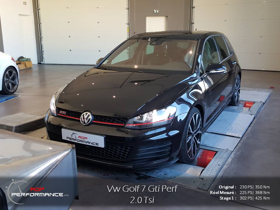 Optimisation Vw Golf 7 Gti Performance sud de la France