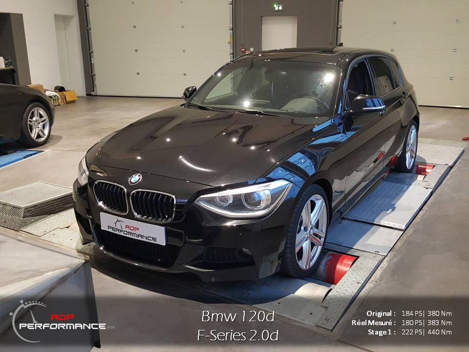reprogrammation moteur bmw 120d realisations reprogrammation auto sur marseille et salon adp. Black Bedroom Furniture Sets. Home Design Ideas