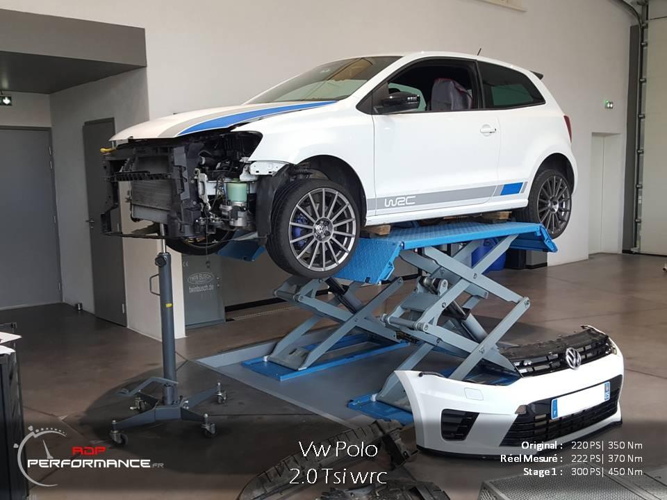 Optimisation moteur polo wrc