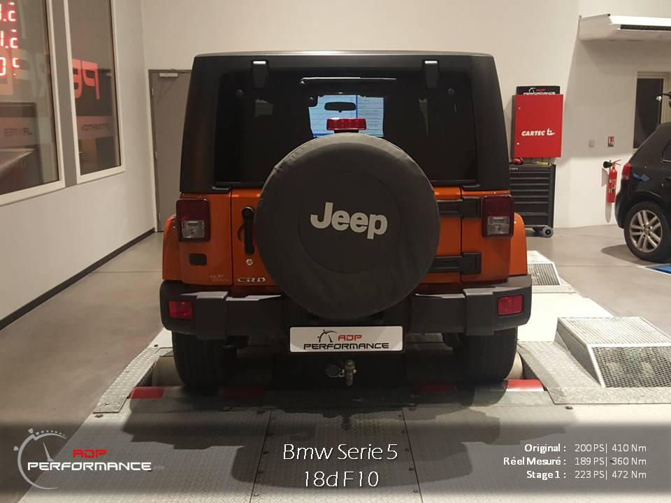 optimisation moteur jeep wrangler