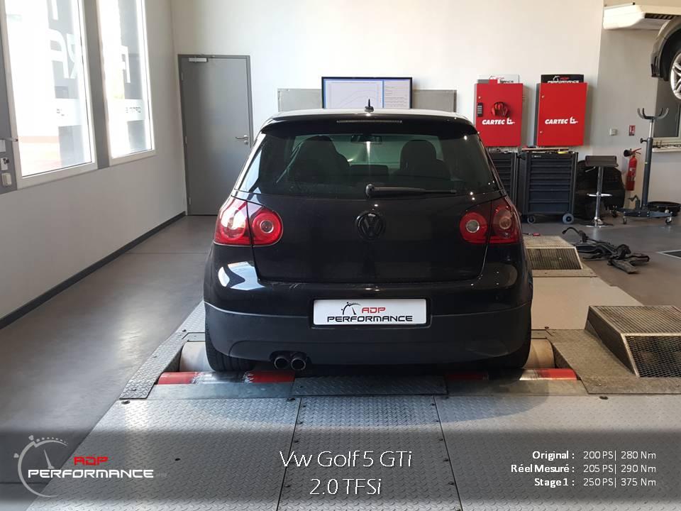 Stage 1 Golf 5 Gti 2.0 tfsi 200 cv