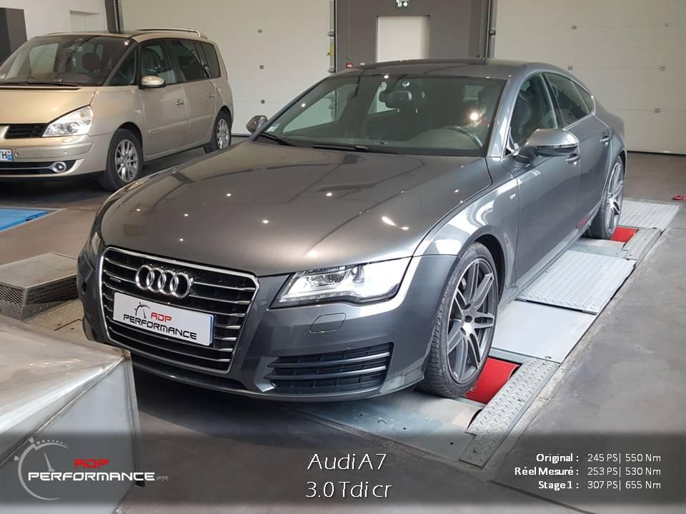 Optimisation moteur Audi A7 ADP