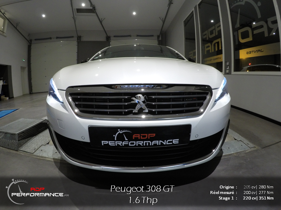 Peugeot 308 GT Stage 1