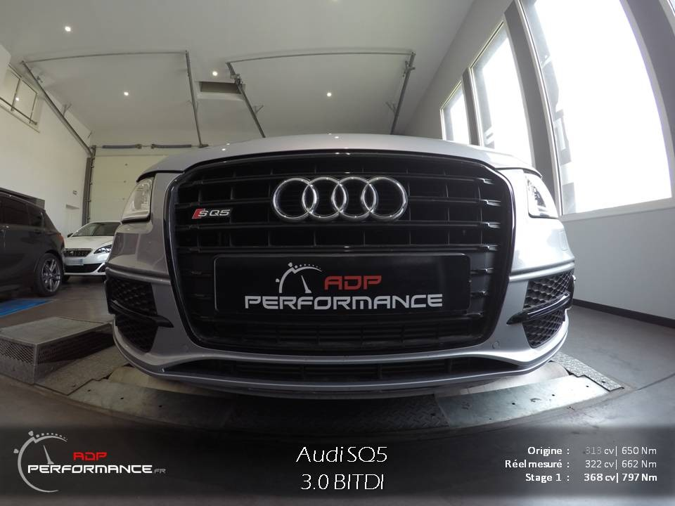 Reprogrammation Stage 1 Audi SQ5