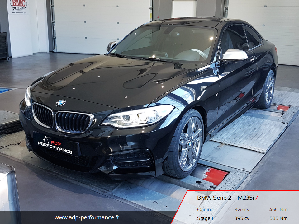 reprogrammation moteur bmw m235i gardanne realisations. Black Bedroom Furniture Sets. Home Design Ideas