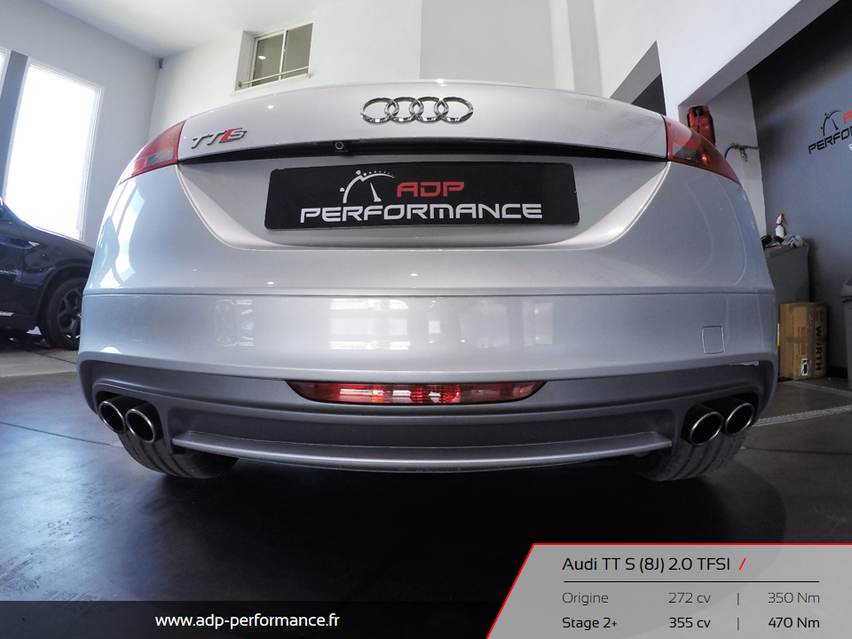 Reprogrammation moteur stage 2 audi tt s 2 0 tfsi aix for Audi salon de provence