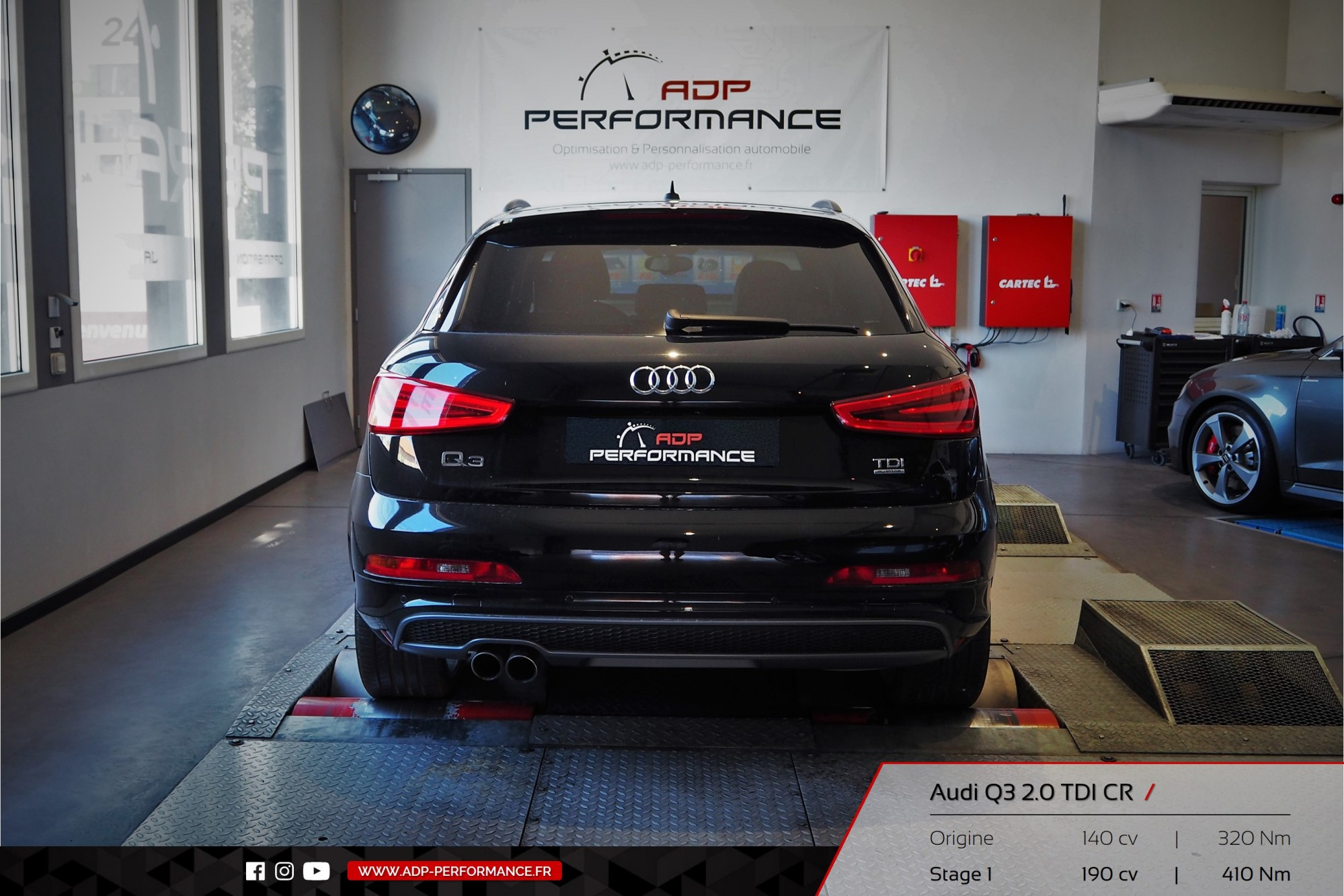 reprogrammation moteur audi q3 2 0 tdi cr montpellier realisations reprogrammation auto sur. Black Bedroom Furniture Sets. Home Design Ideas