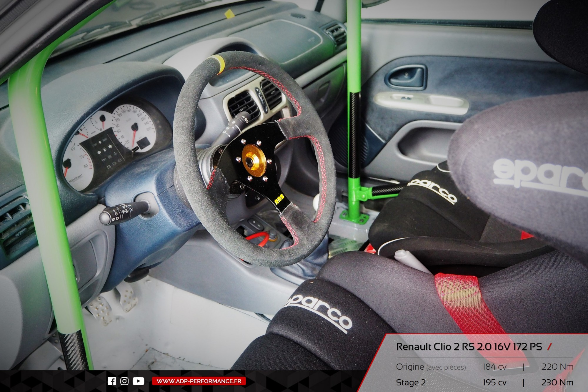 reprogrammation moteur stage 2 renault clio 2 rs cabri s realisations reprogrammation auto. Black Bedroom Furniture Sets. Home Design Ideas