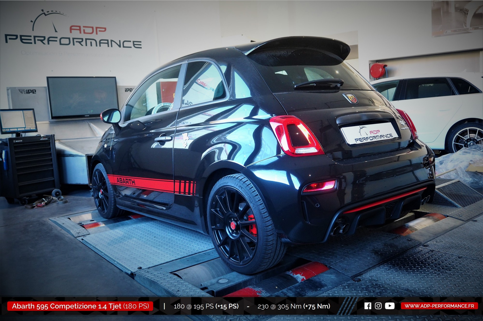 reprogrammation moteur fiat 500 abarth 595 competizione cavaillon realisations. Black Bedroom Furniture Sets. Home Design Ideas