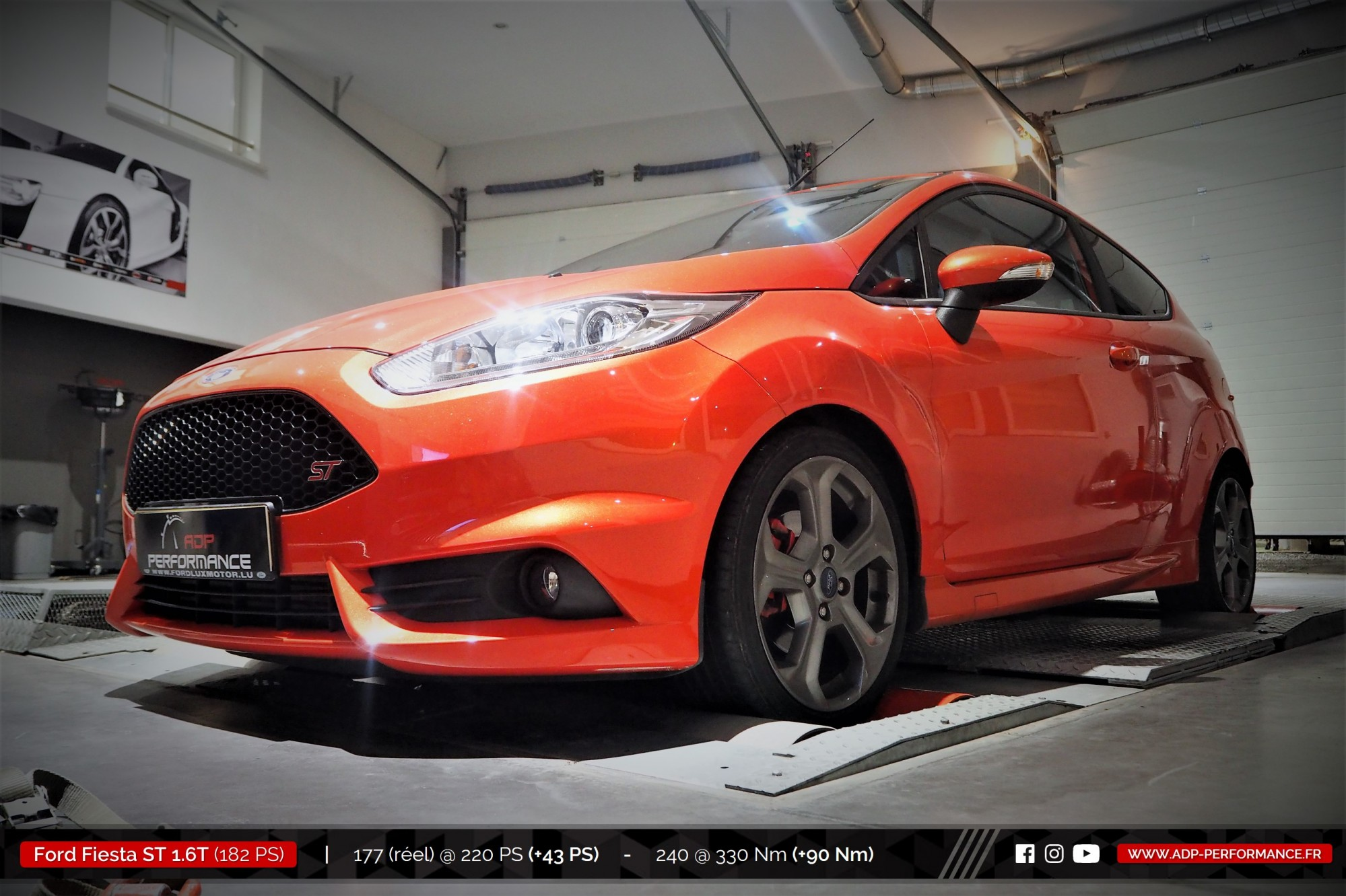 Reprogrammation moteur & admission Forge Ford Fiesta ST 1.6T ...