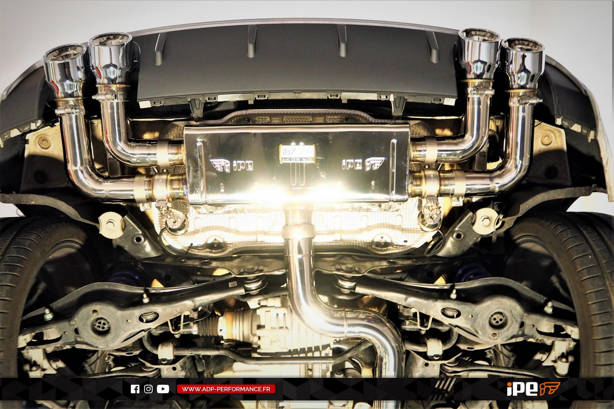 Ligne d'échappement (cat-back) iPE Innotech Le Pontet - Audi S3 8V - ADP Performance