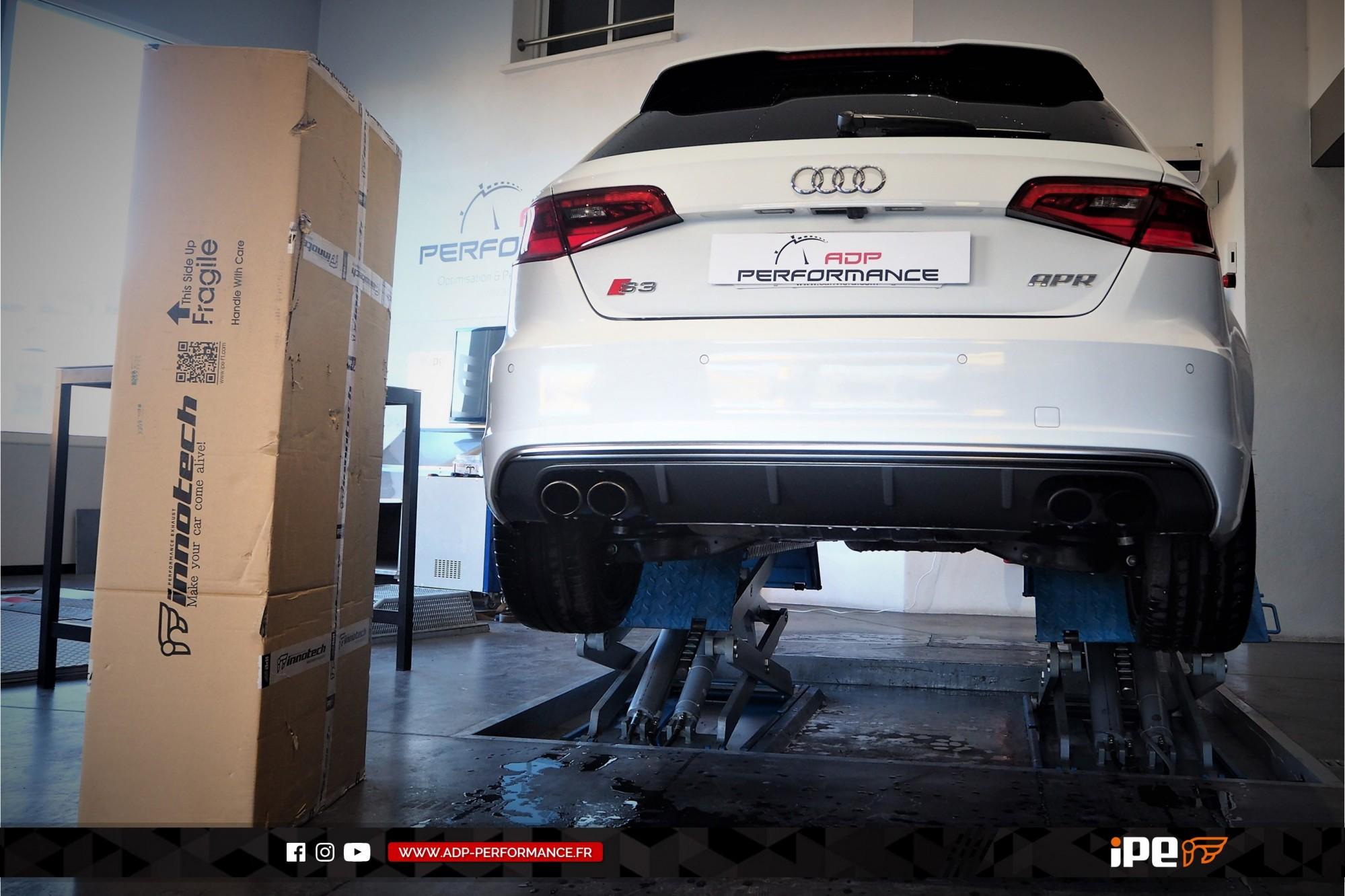 Ligne d'échappement (cat-back) iPE Innotech Plan de Campagne - Audi S3 8V - ADP Performance