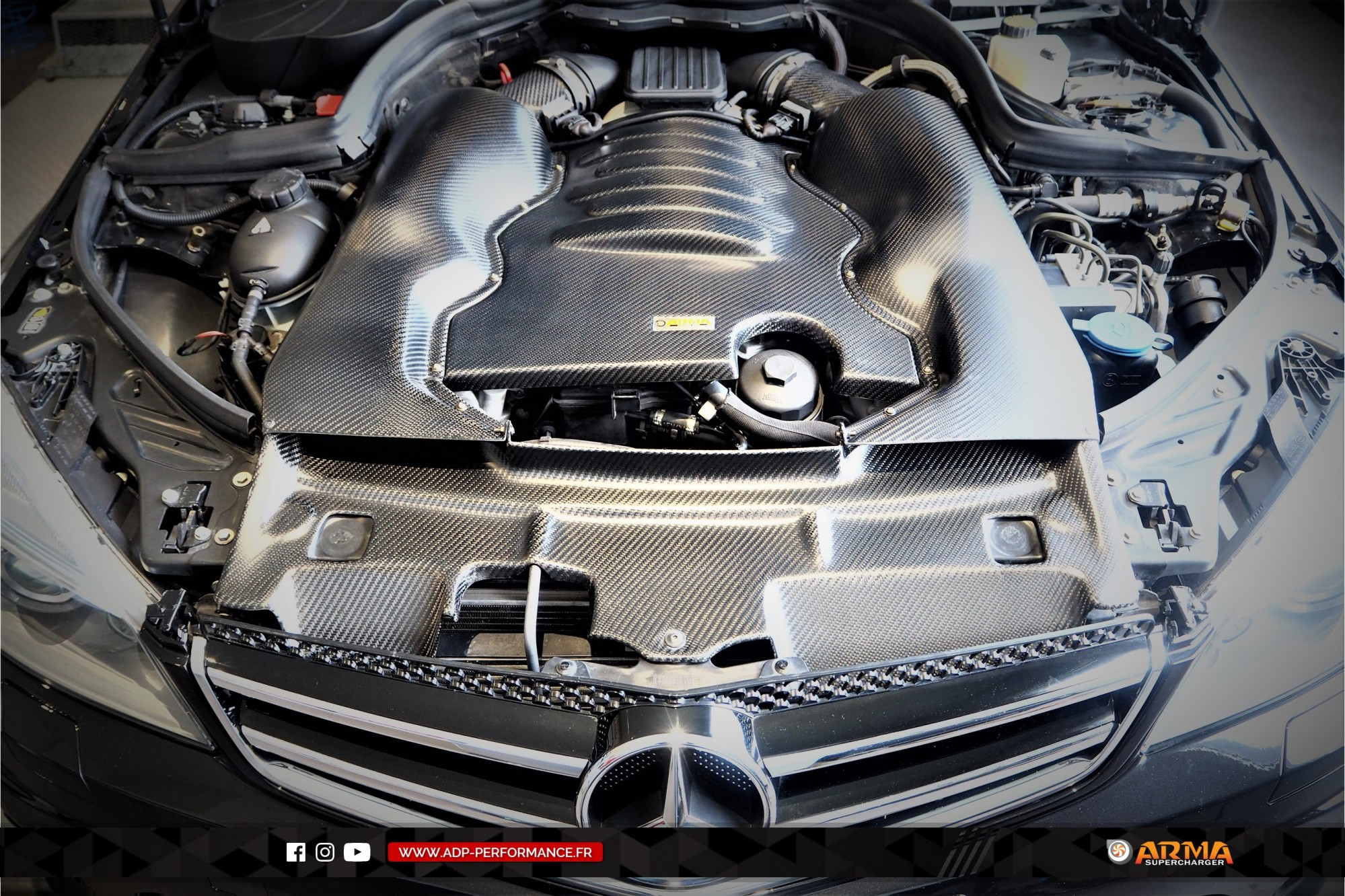 Admission ARMA Speed Salon de Provence - Mercedes C63 AMG - ADP Performance