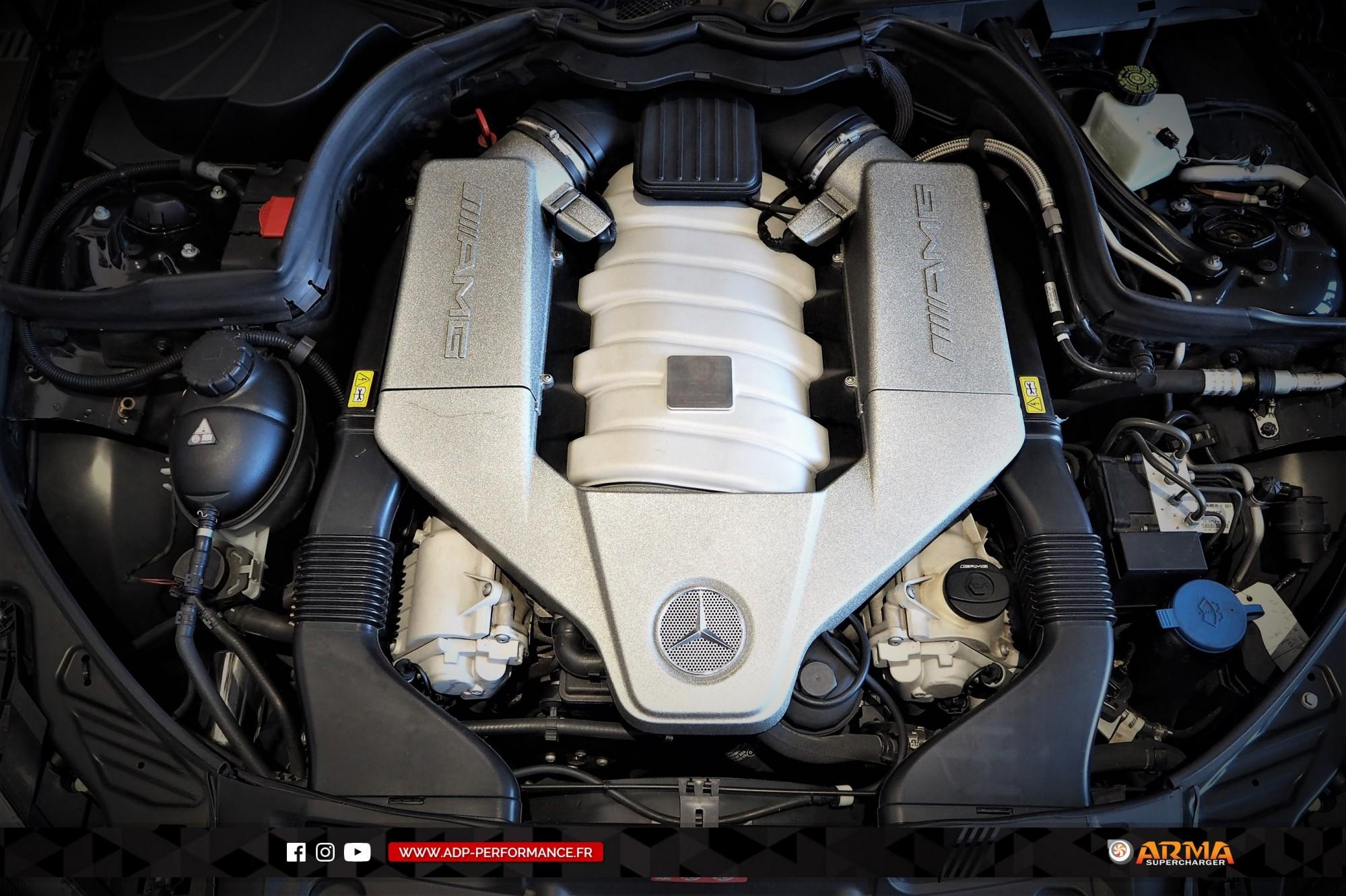 Admission ARMA Speed Nimes - Mercedes C63 AMG - ADP Performance