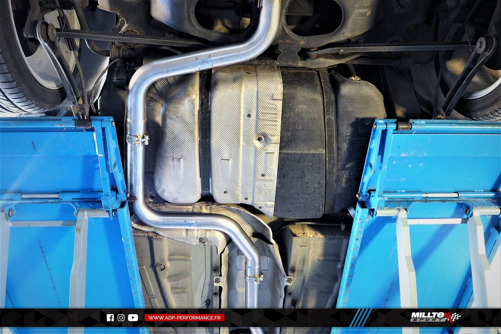 Ligne d'échappement (cat-back) Milltek Nimes - Ford Mondeo ST220 - ADP Performance