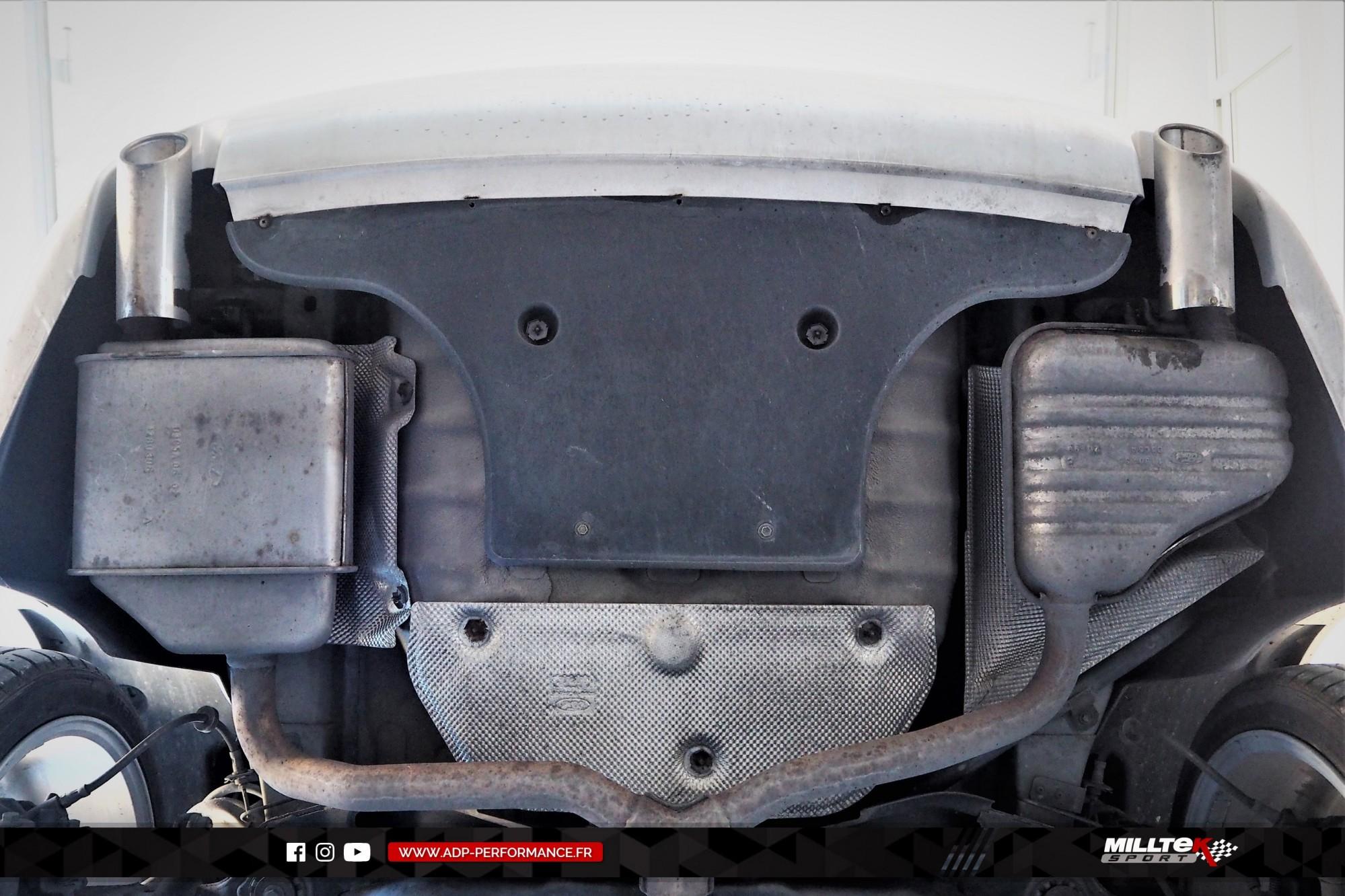 Ligne d'échappement (cat-back) Milltek Vitrolles - Ford Mondeo ST220 - ADP Performance