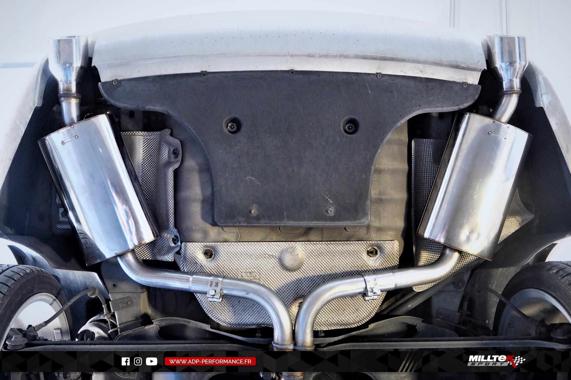 Ligne d'échappement (cat-back) Milltek Les Pennes Mirabeau - Ford Mondeo ST220 - ADP Performance