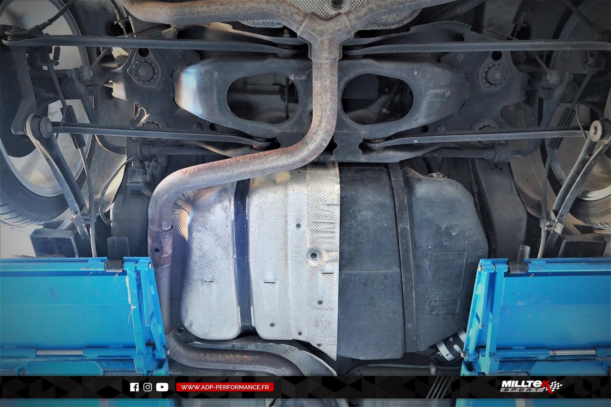 Ligne d'échappement (cat-back) Milltek Marseille - Ford Mondeo ST220 - ADP Performance