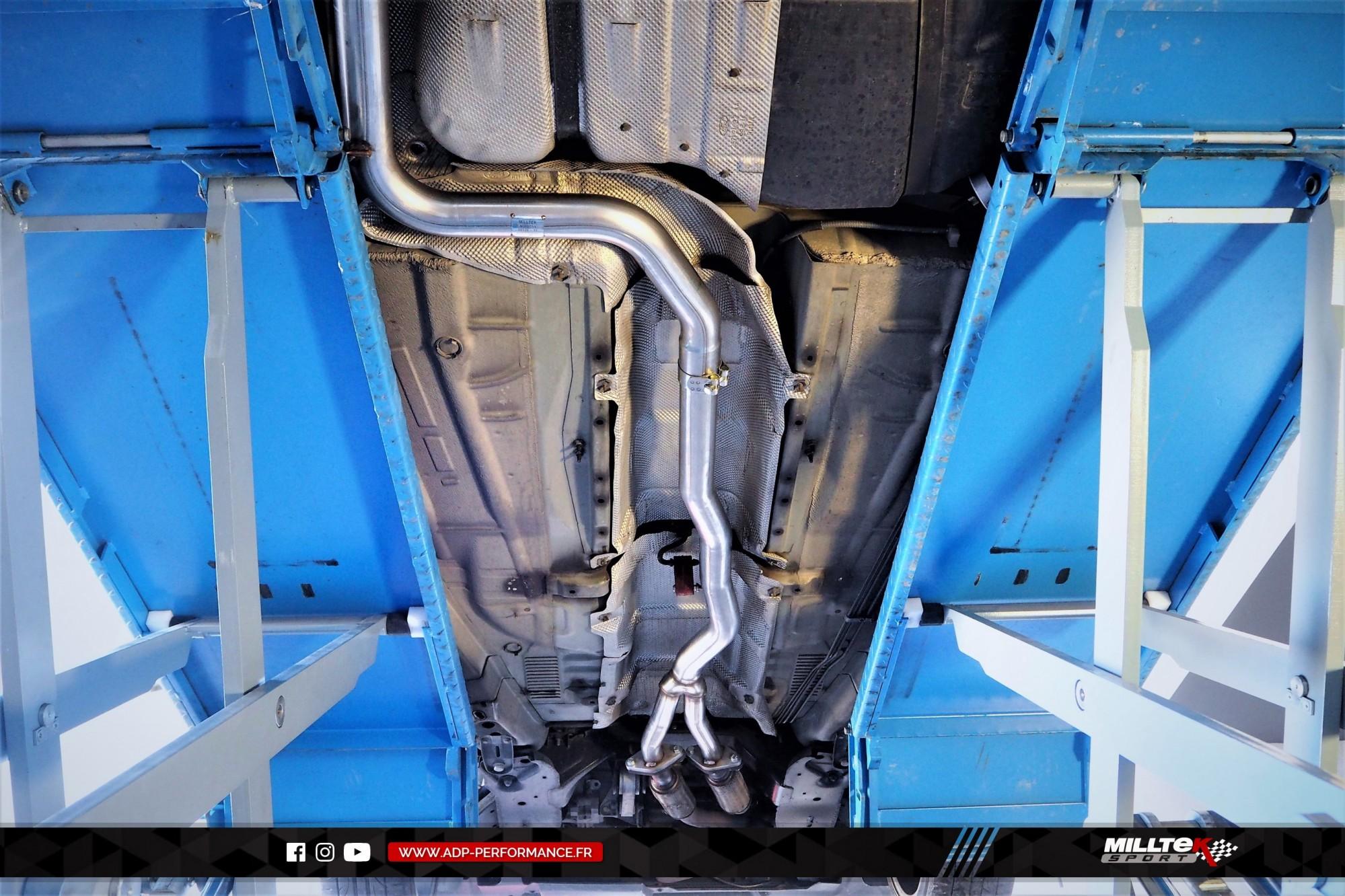 Ligne d'échappement (cat-back) Milltek Montpellier - Ford Mondeo ST220 - ADP Performance