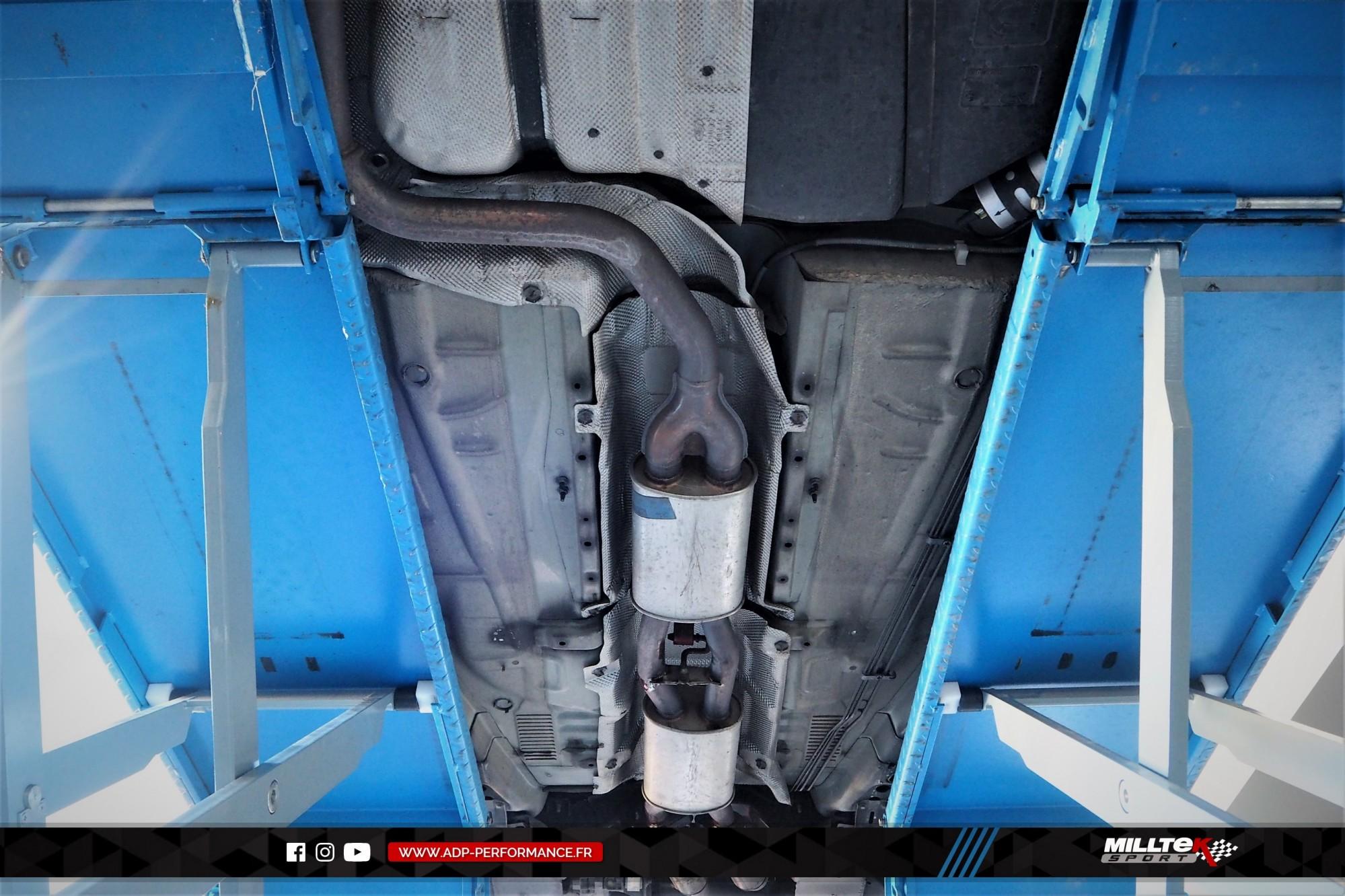 Ligne d'échappement (cat-back) Milltek Avignon - Ford Mondeo ST220 - ADP Performance
