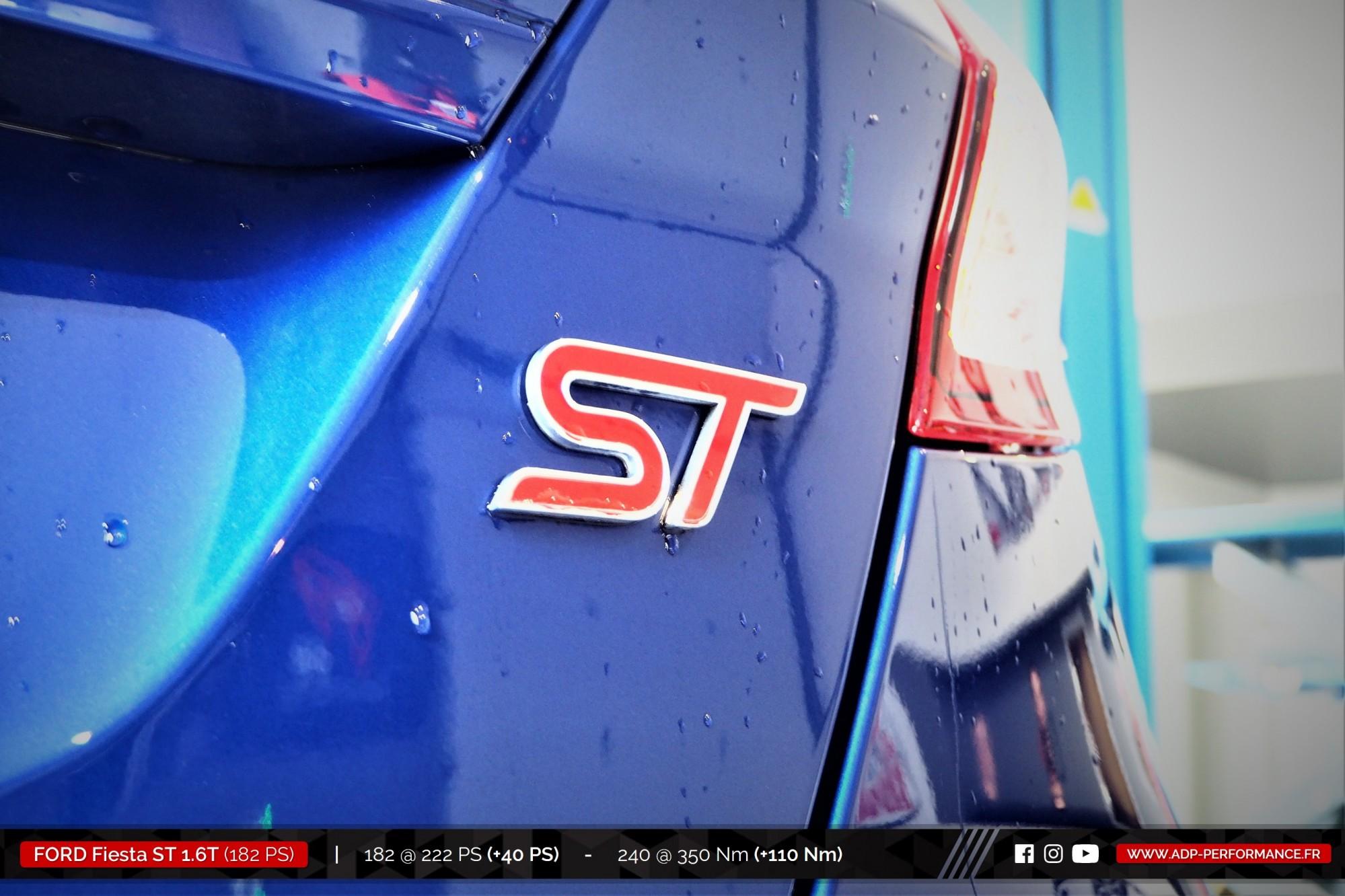 Reprogrammation moteur Nimes - Ford Fiesta ST 1.6T 182cv- ADP Performance