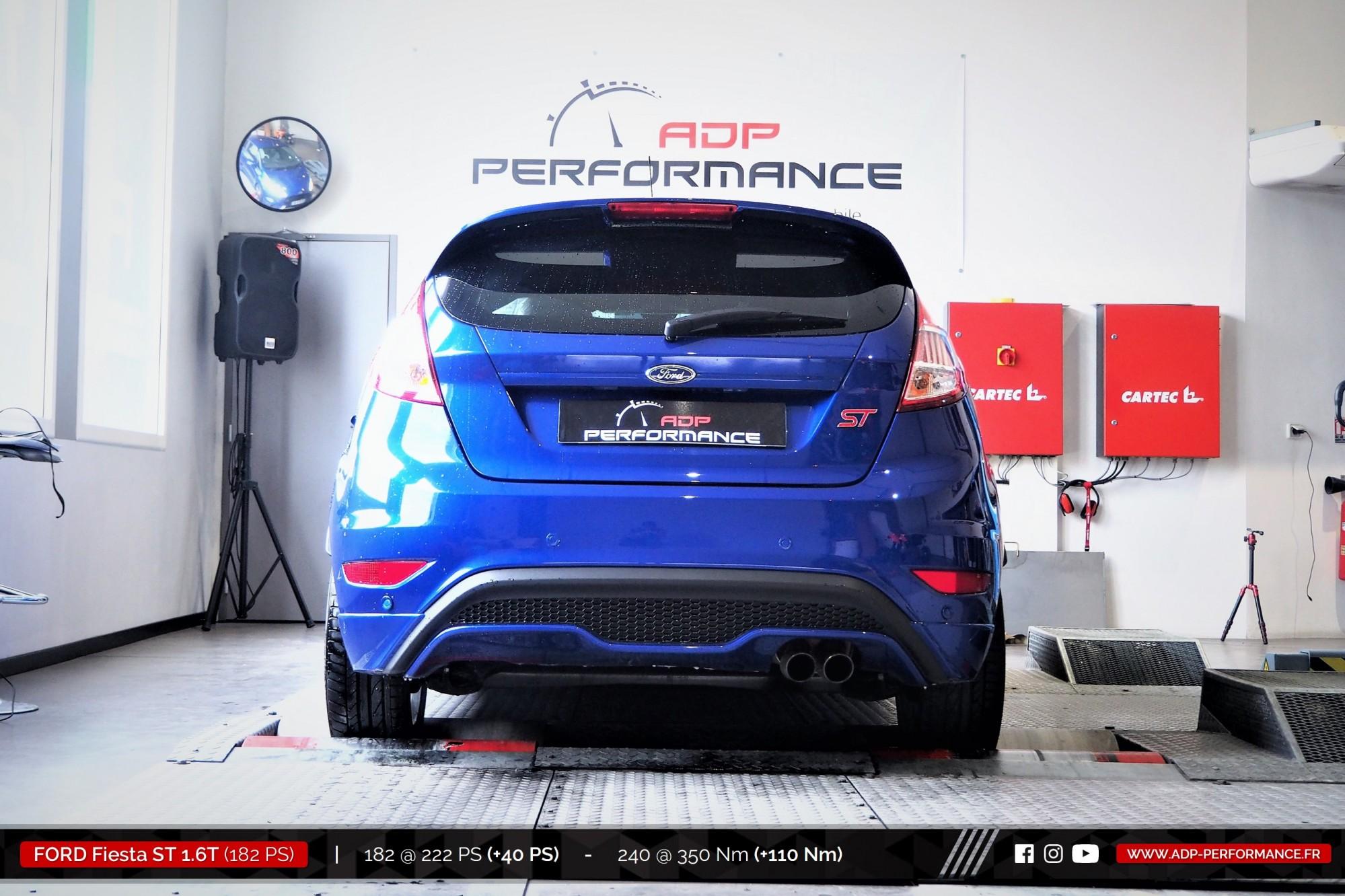 Reprogrammation moteur Aix en Provence - Ford Fiesta ST 1.6T 182cv- ADP Performance
