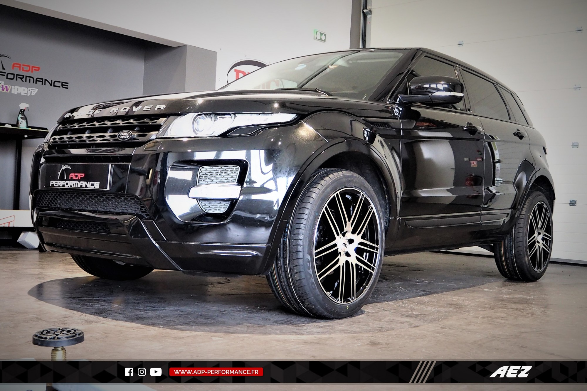 Jantes AEZ Nimes - Land Rover Evoque - ADP Performance