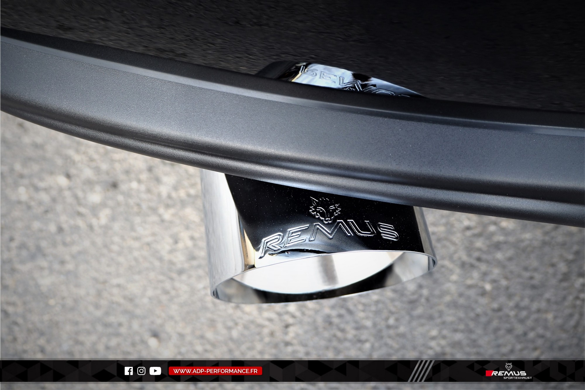 Ligne d'échappement (silencieux) Remus St Victoret - Fiat 124 Spider - ADP Performance