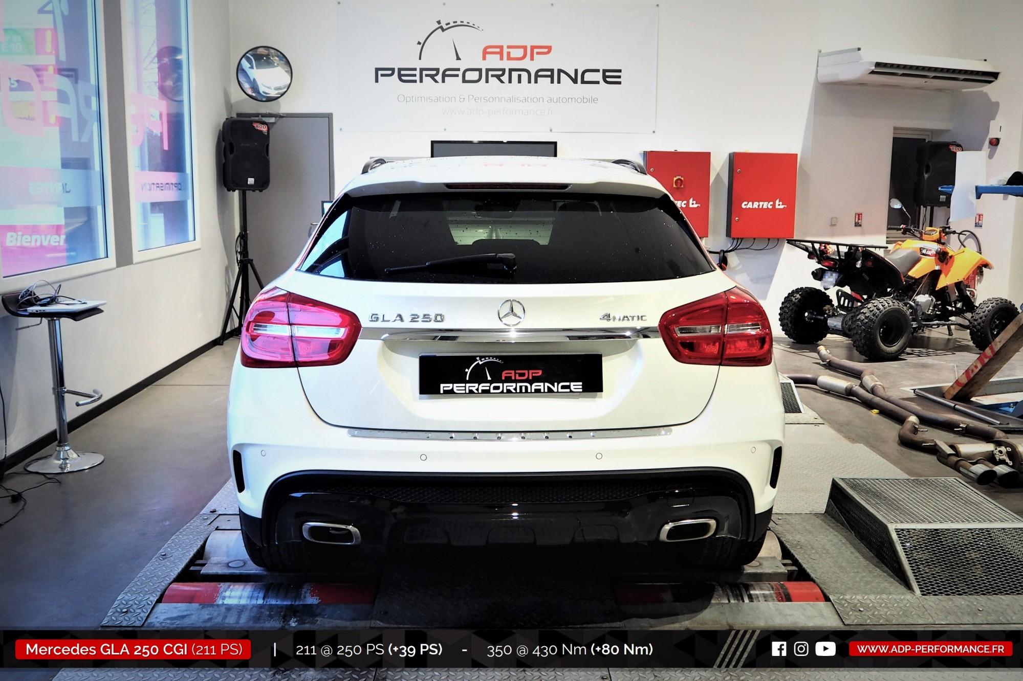 Reprogrammation moteur Les Milles - Mercedes GLA 250 CGI 211cv - ADP Performance