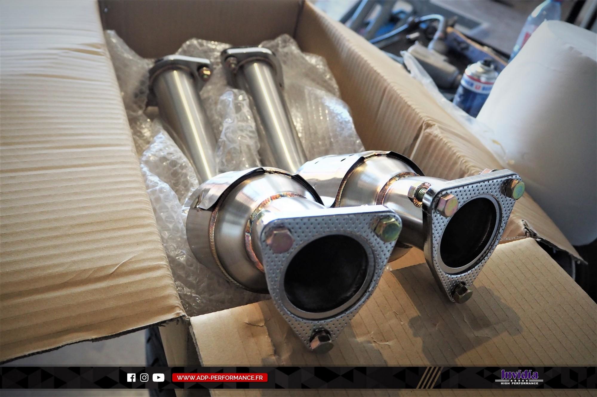 Catalyseur sport Invidia Aix en Provence - Infiniti FX35 - ADP Performance