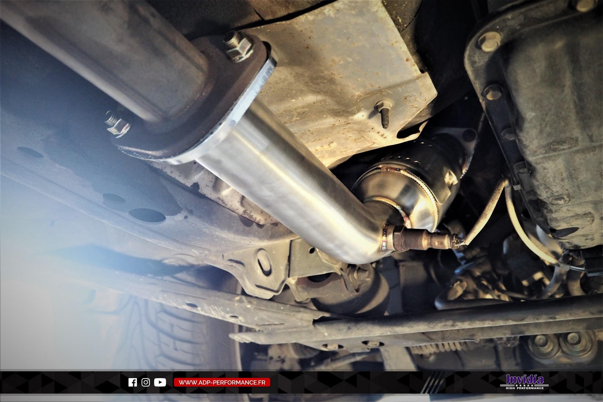 Catalyseur sport Invidia Le Pontet - Infiniti FX35 - ADP Performance